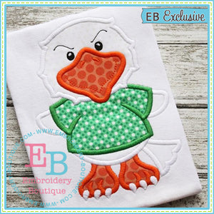 Boy Eagle Mascot Applique, Applique