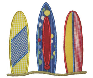 Surf Boards Applique - embroidery-boutique