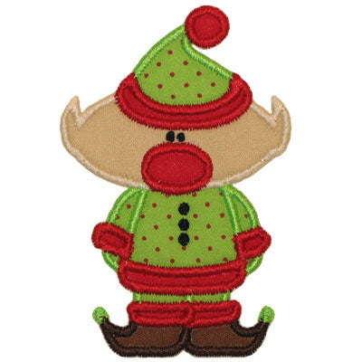 Elf Applique - embroidery-boutique