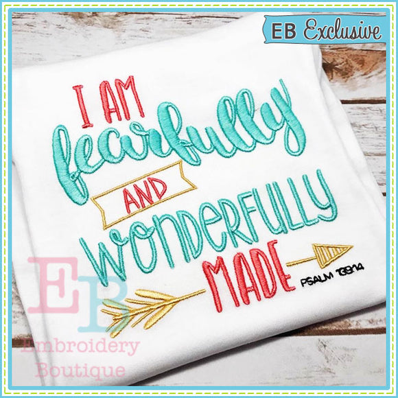 Fearfully Made Design - embroidery-boutique