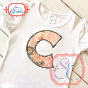 Doodle Applique Alphabet - embroidery-boutique