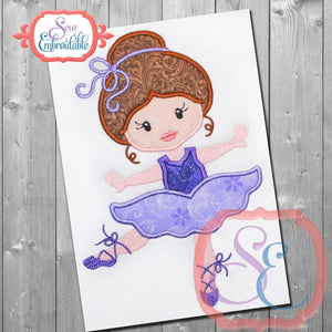 Ballerina 7 Applique
