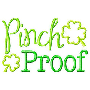 Pinch Proof - embroidery-boutique