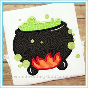 Cauldron Applique, Applique
