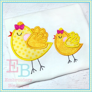 Sassy Chicks Applique - embroidery-boutique