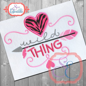 Wild Thing Applique - embroidery-boutique