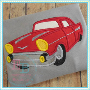 Vintage Car Applique, Applique
