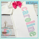 Sketch Lowercase Set - Motif Fill - 5 FULL Alphabets