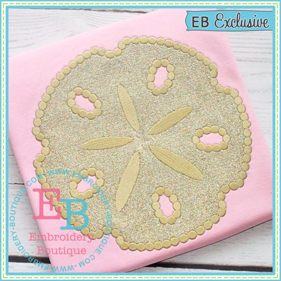 Dotted Sand Dollar Applique