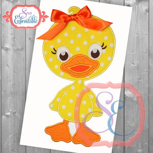 Lucky Duck Applique, Applique