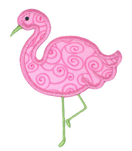 Flamingo Applique
