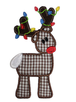 Reindeer Applique - embroidery-boutique