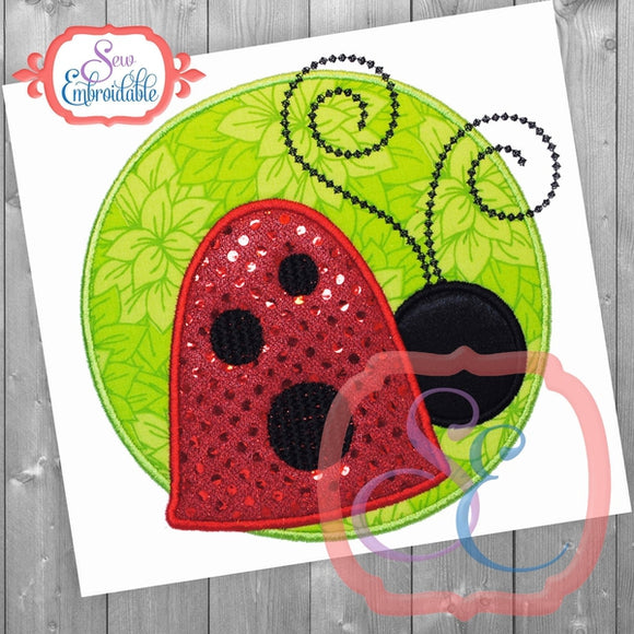 Little Ladybug Applique - embroidery-boutique