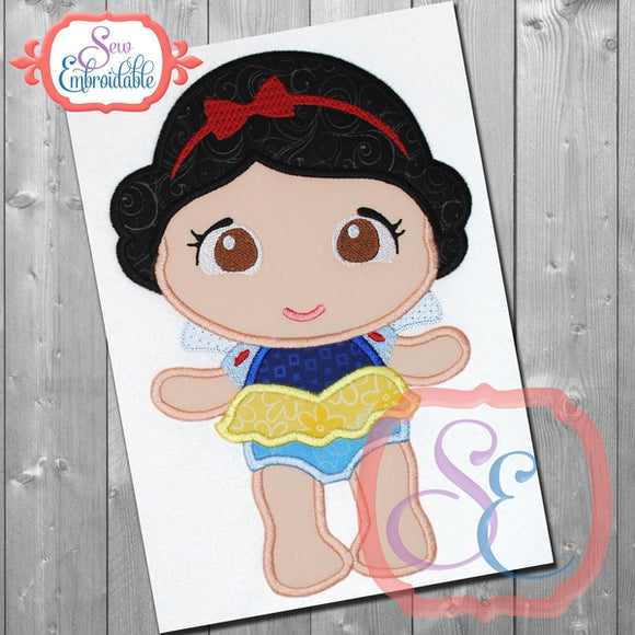 Baby Princess 1 Applique - embroidery-boutique