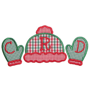 Hat N Mittens Applique