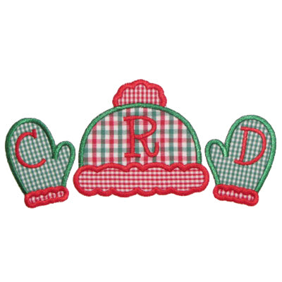Hat N Mittens Applique - embroidery-boutique