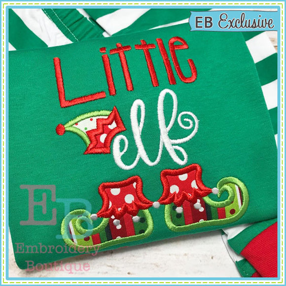Little Elf Applique, Applique