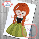 Little Princess 8 Applique