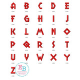 Brody Alphabet - embroidery-boutique