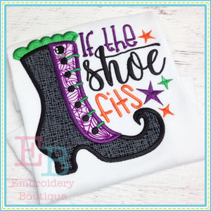 Shoe Fits Applique - embroidery-boutique