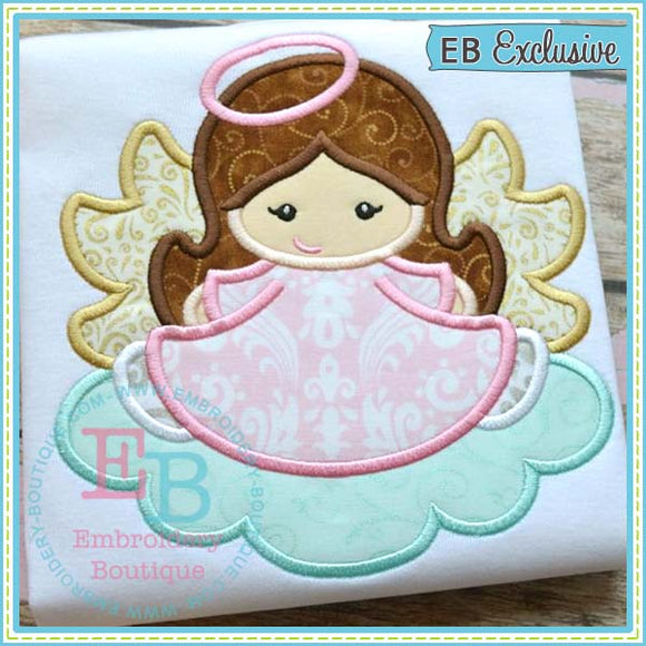 Angel Applique - embroidery-boutique