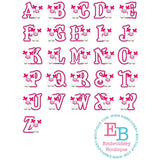 Poodle Applique Alphabet - embroidery-boutique