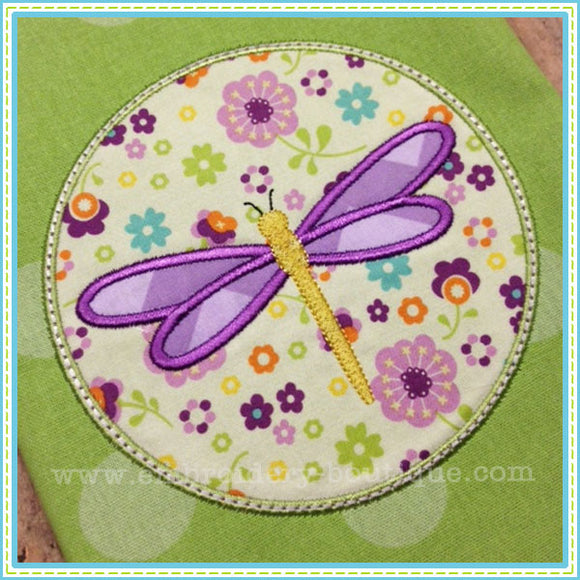 Dragonfly Patch Applique, Applique