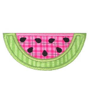 Watermelon Applique - embroidery-boutique