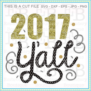 2017 Yall SVG - embroidery-boutique