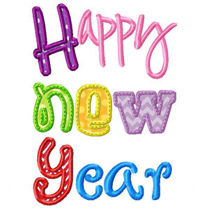 Happy New Year - embroidery-boutique
