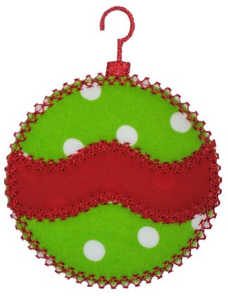 Wavy Vintage Ornament Applique - embroidery-boutique