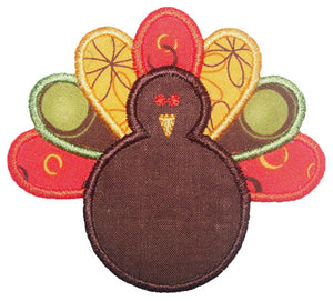 Turkey Applique - embroidery-boutique