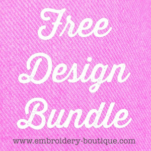 Free Design Bundle - embroidery-boutique