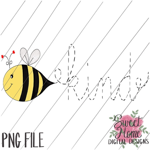 Bee Kind Design PNG Printable, Printable