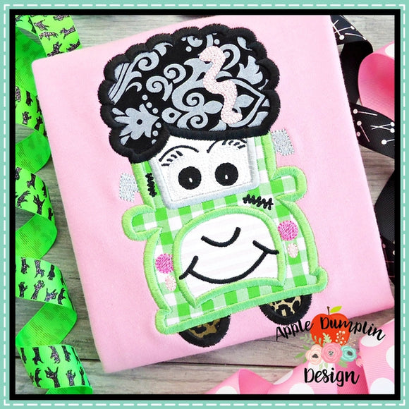 Bride of Frankenstein Truck Applique Design