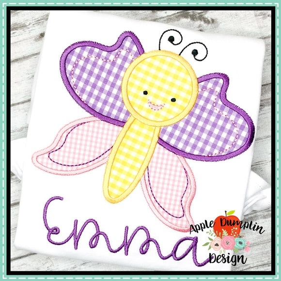 Butterfly Applique Design, applique