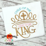 Child of the One True King Machine Embroidery Design
