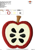 Apple Mini Embroidery Design