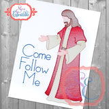 Come Follow Me Sketch Design, Embroidery