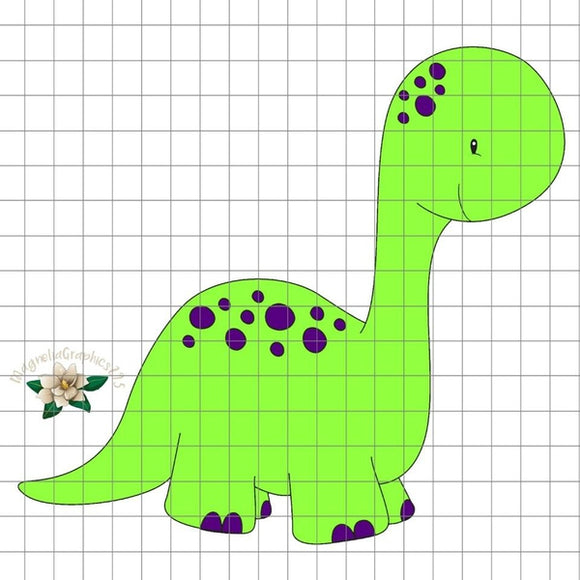 Dino PNG Printable Design