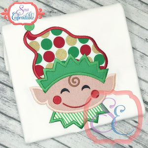 Elfie Applique - embroidery-boutique