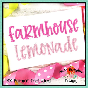 Farmhouse Lemonade Alphabet