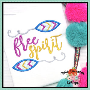 Free Spirit Applique Design