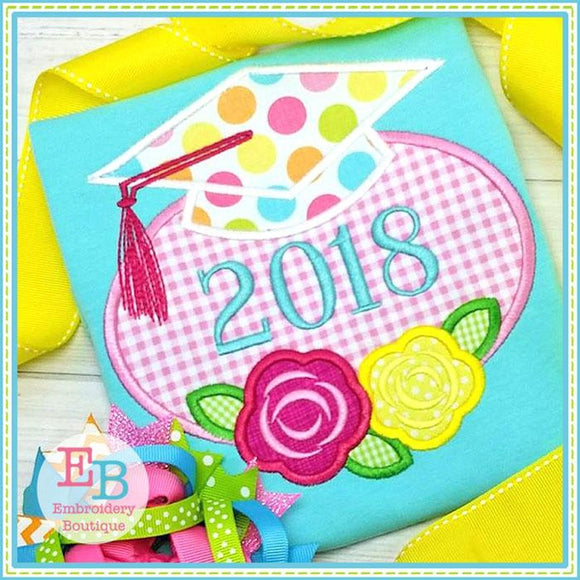 Grad Rose Cap Applique