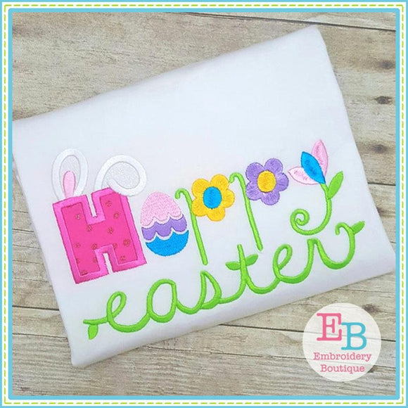 Happy Easter Applique - Embroidery Boutique