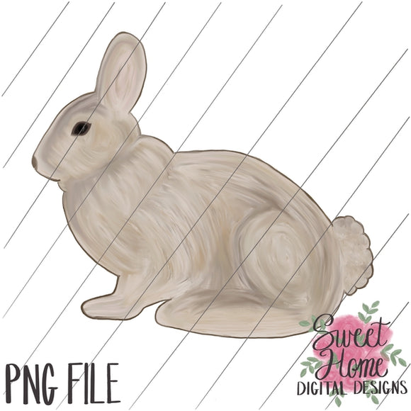 Vintage Easter Bunny PNG Printable