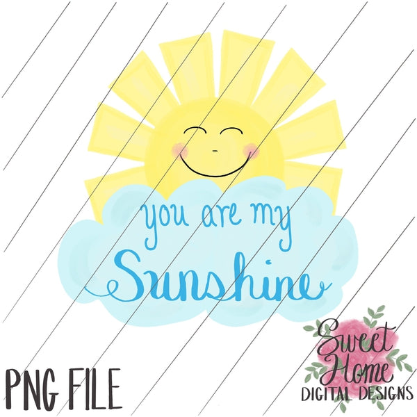 graphic about You Are My Sunshine Printable titled By yourself are My Solar PNG Printable