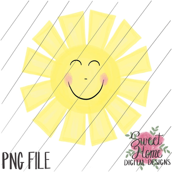 Sunshine Smile PNG Printable, Printable