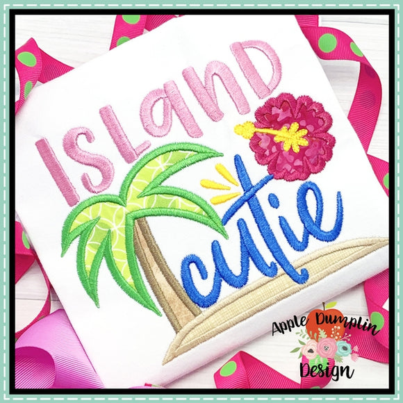 Island Cutie Applique Design