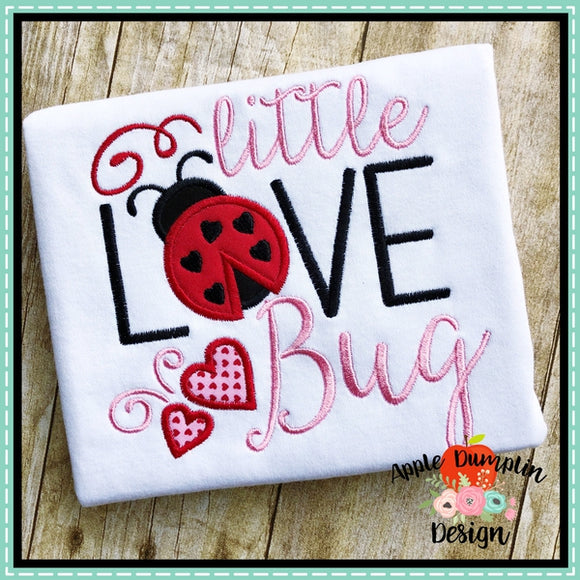 Little Love Bug Applique Design - embroidery-boutique